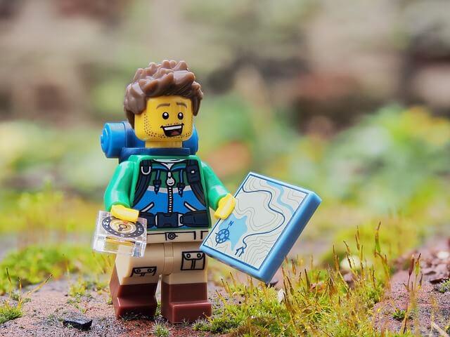 Lego matkailija